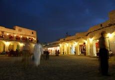 Souq en la noche Fotos de archivo
