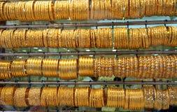 souq för dubai guldsmycken s Royaltyfria Bilder