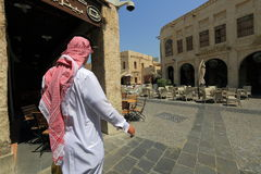 Souq markets in Doha Stock Photos