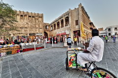 Souq markets in Doha Stock Photography