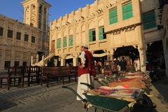 Souq markets in Doha Royalty Free Stock Photo