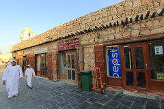 Souq markets in Doha Stock Images