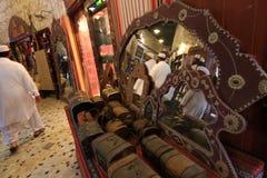 Souq marknader i Doha Arkivbild
