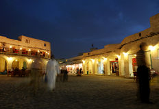 Souq at night Stock Photos