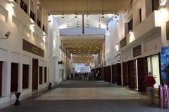 Souq novo em Manama, Barém Imagem de Stock
