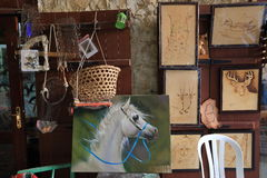 Souq rynki w Doha Obrazy Royalty Free