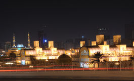 souq sharjah главного города Стоковые Фото