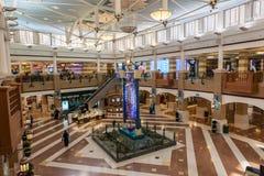 Souq Sharq shoppinggalleria i Kuwait Arkivfoto