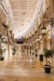 Souq Sharq shoppinggalleria i Kuwait Arkivfoton