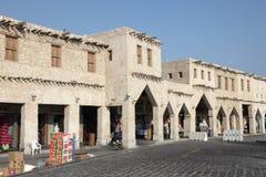 Souq w Doha Waqif, Katar Obrazy Stock