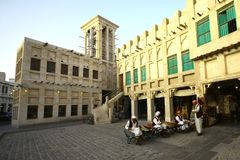 Souq Wakif, Doha, Katar lizenzfreie stockfotos