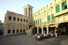 Souq Wakif, Doha, Qatar Fotografie Stock Libere da Diritti