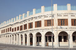 Souq Waqif在多哈。 卡塔尔 免版税库存照片