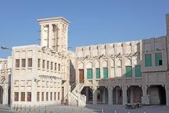 Souq Waqif在多哈。 卡塔尔 免版税库存图片