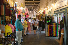 Souq Waqif arcade Stock Photo