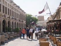 Souq Waqif Doha, Catar Fotografia de Stock