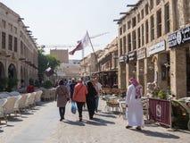 Souq Waqif Doha, Qatar Fotos de archivo libres de regalías