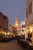 Souq Waqif at dusk, Doha Qatar Stock Photography