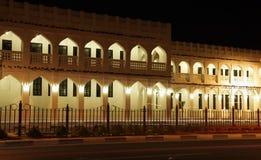 Souq Waqif na noite, Doha Imagem de Stock