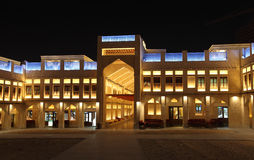 Souq Waqif at night, Doha Royalty Free Stock Image