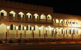 Souq Waqif at night, Doha Stock Image