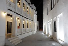 Souq Waqif at night, Doha Stock Photography