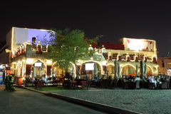 Souq Waqif at night. Doha Stock Photos