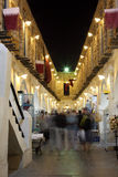 Souq Waqif at night. Doha, Qatar Royalty Free Stock Images