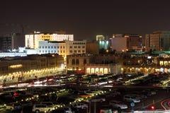 Souq Waqif at night. Doha, Qatar Royalty Free Stock Image