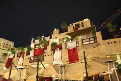 Souq Waqif at night. Doha, Qatar Royalty Free Stock Photo