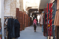Souq Waqif stalls Stock Photos