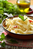 Sour cabbage,traditional dish of russian cuisine. Stock Image