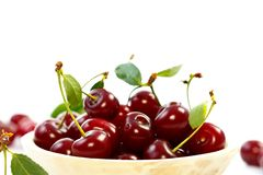 Sour Cherries Royalty Free Stock Photos