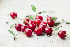 Free Sour Cherry Royalty Free Stock Photos - 55825788