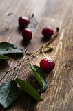 Sour cherry close up Royalty Free Stock Photography