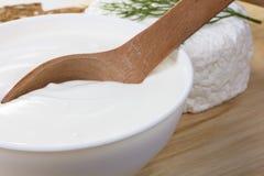 Free Sour Cream And Quark Stock Photography - 20516602