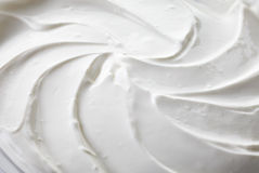 Sour cream background Royalty Free Stock Image