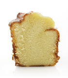 Sour Cream Cake Slice Stock Photography
