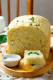 Sour cream chive bread .style rustic Stock Photography