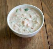 Sour cream sauce Stock Image