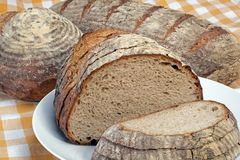 Sour dough bread Royalty Free Stock Images