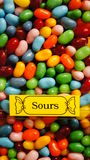 Sour Jellybeans Royalty Free Stock Photos