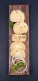 Sour milk cheese Stock Image