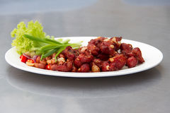 Sour pork fried Stock Photography