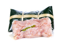 Sour pork : Thai northeastern style food Stock Photography