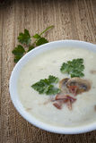 Sour rye soup for easter (zurek) Stock Photos