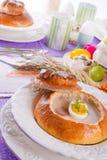 Sour rye soup Royalty Free Stock Photo