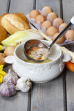 The sour rye soup Royalty Free Stock Photo
