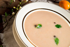 Sour rye soup Royalty Free Stock Images