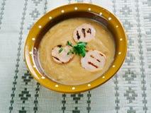 Sour rye soup  zur Royalty Free Stock Image